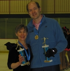 Barb and Craig at ISI District 1 Championships